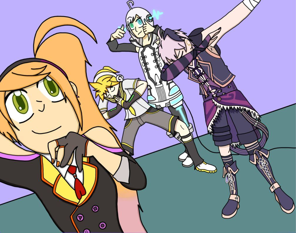 Vocaloid Draw The Squad By Venusgriffin Deviantart Com On Deviantart Vocaloid Draw The Squad Draw
