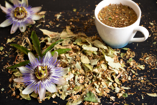 Pin By Kennedy Grinage On Let S Get Busy In 2020 Passion Flower Tea Sleep Tea Passion Flower