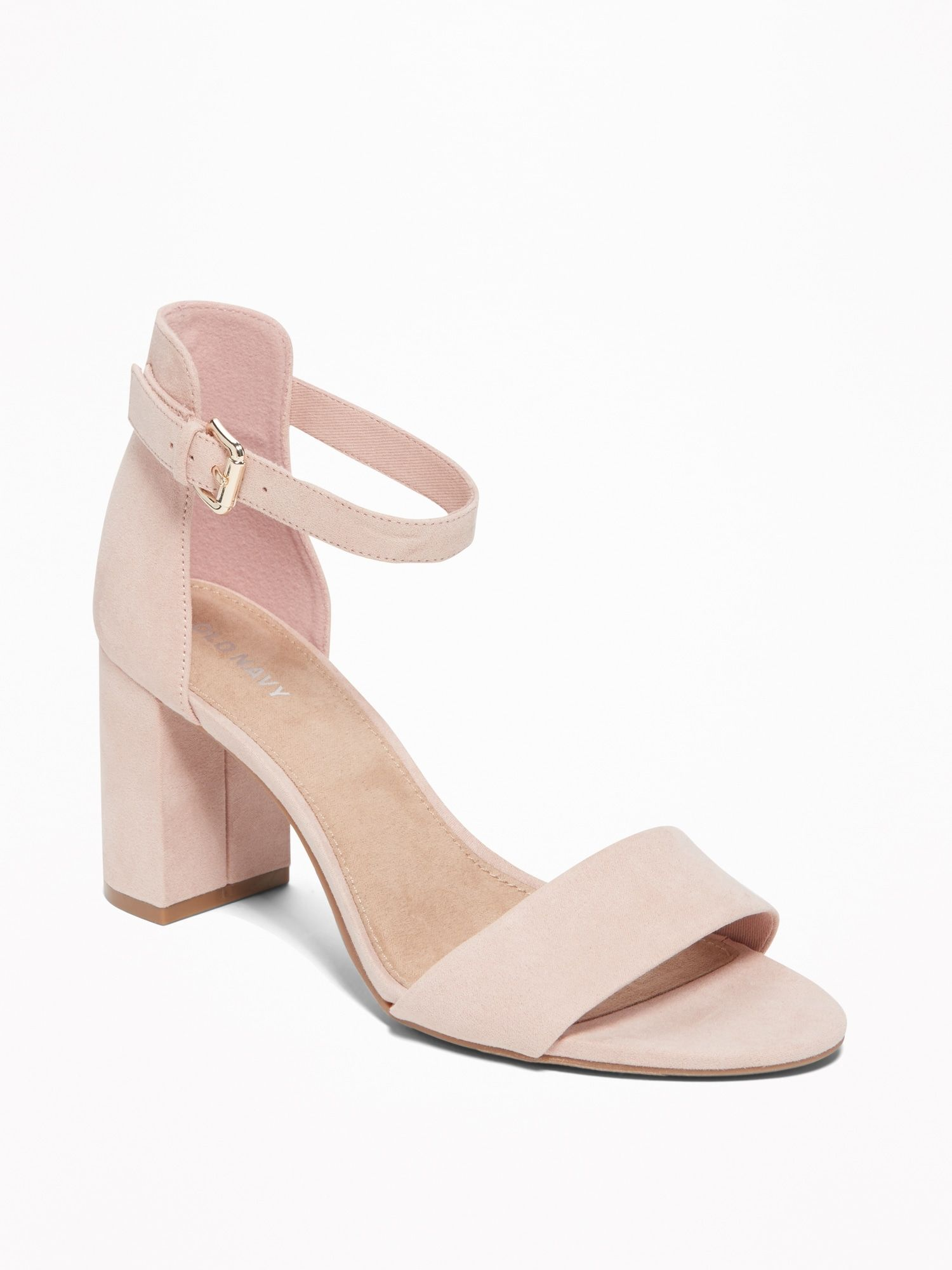fb3baccbb Shop Old Navy's Faux-Suede Block-Heel Sandals for Women: Who says only  boots are made for walking? This classy (and sassy) block heel takes you  from desk to ...