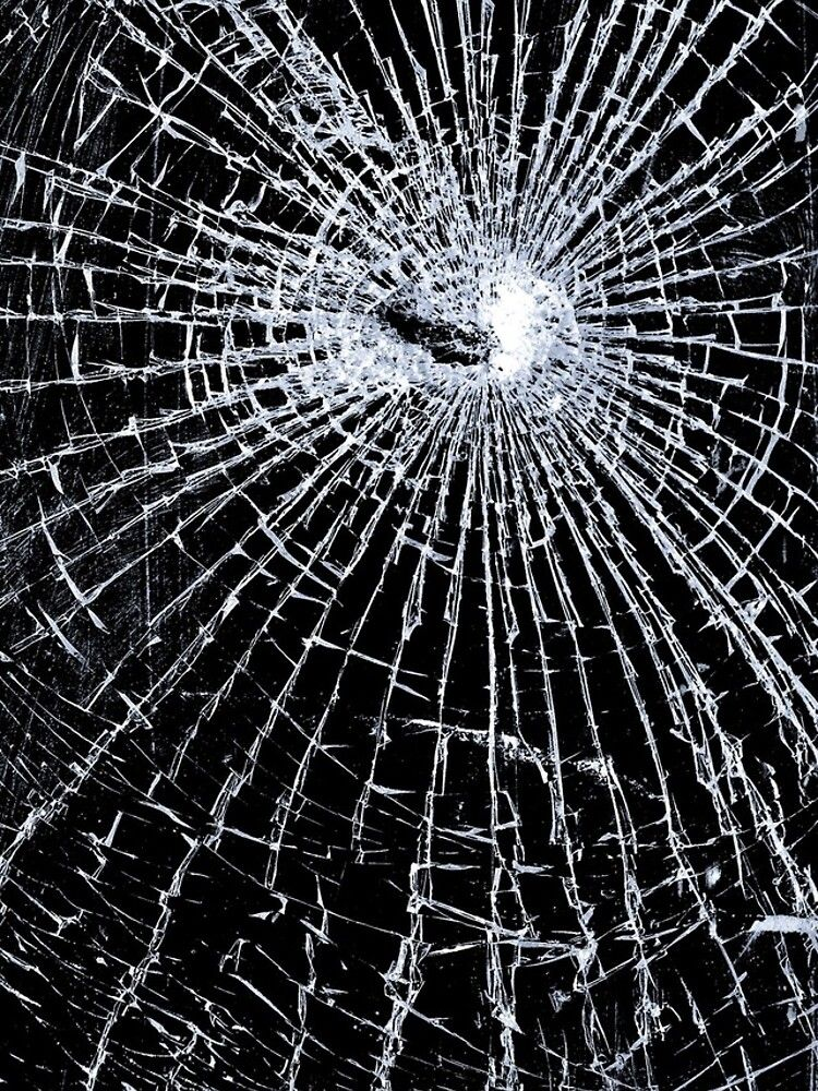 Broken Glass 2 Iphone Black Iphone Xs Max Tough By Brian Carson Broken Screen Wallpaper Broken Glass Wallpaper Screen Wallpaper Hd