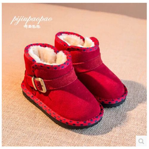 (Buy here: http://appdeal.ru/16a ) new 2014 girls shoes winter boots children shoes girls boots Warm Fashion Free shipping Genuine Leather Plus velvet  1-1011 for just US $36.65