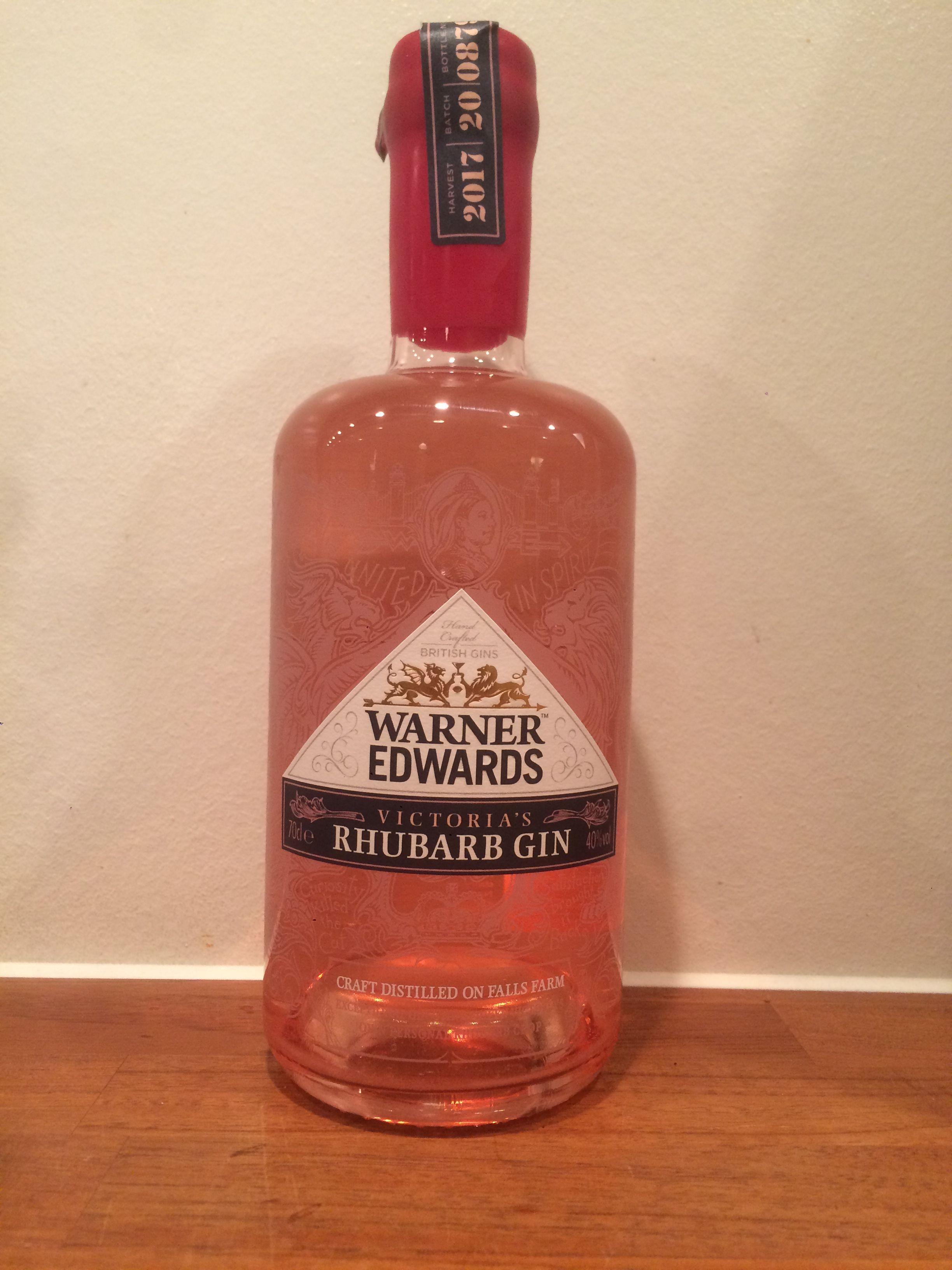 Warner Edwards Victoria S Rhubarb Gin Craft Distilling Rhubarb Gin Gin