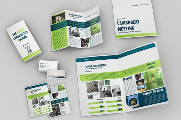 Set of Brochures / Stationery 00 | Brochures