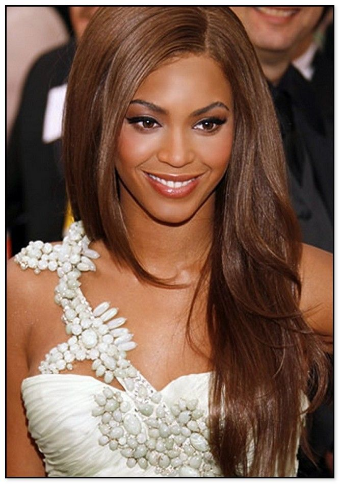 Today The Very Popular Hair Colour For Dark Skinned Women Is Dark