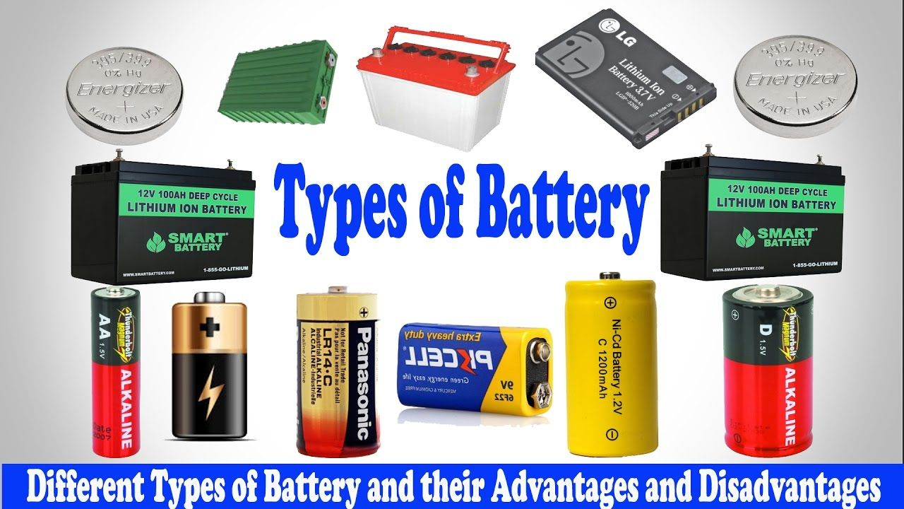 Types Of Battery Different Types Of Battery Classification Of Battery Battery Battery Hacks Energy System