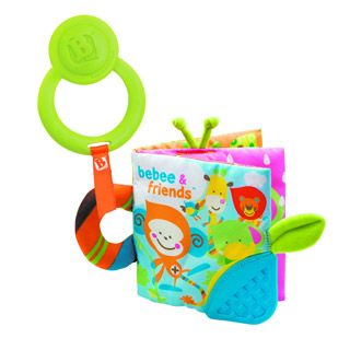 infant activity teething activity book