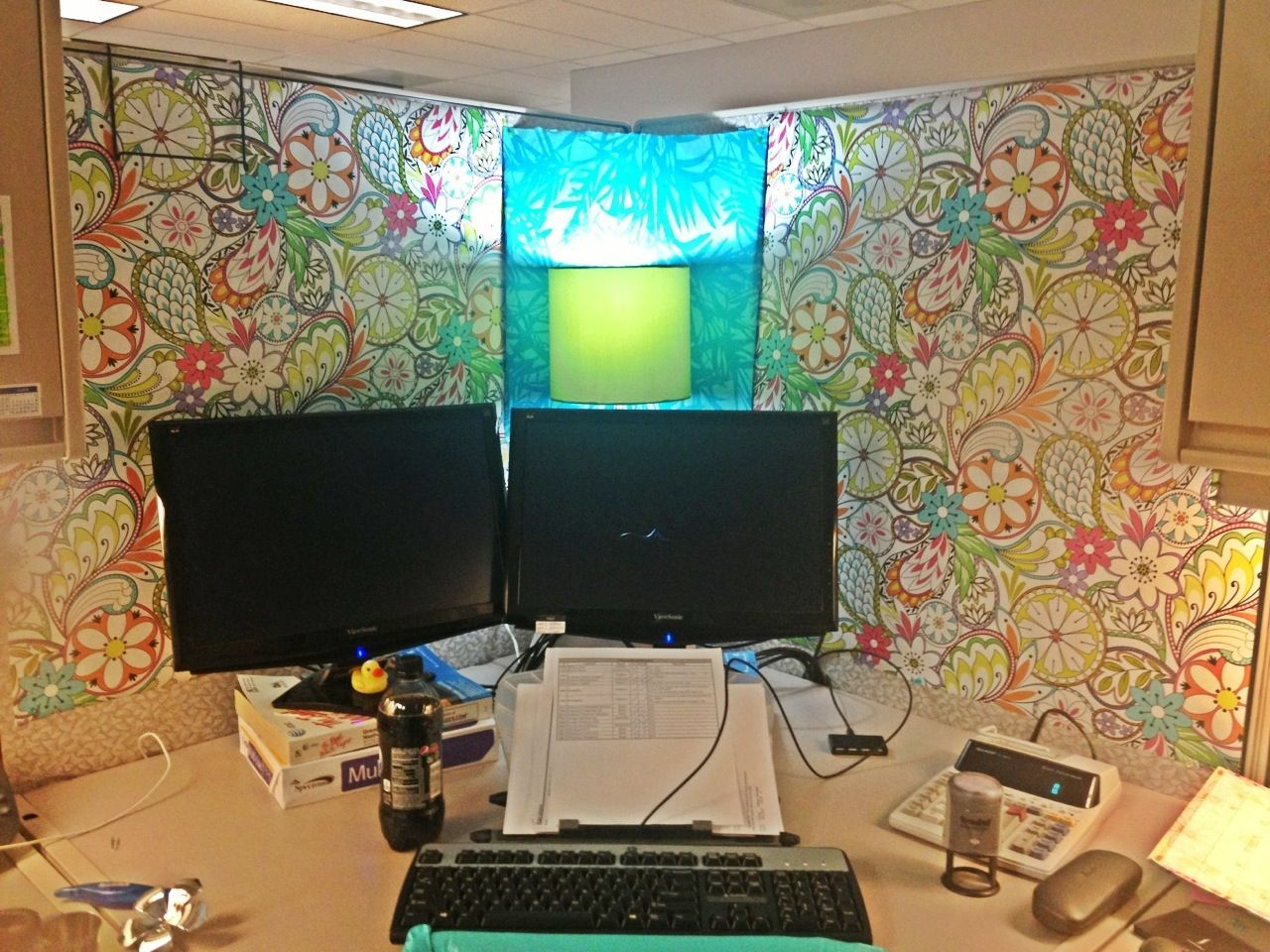 girly cubicle decorating ideas | Office Cubicle Idea Starters | Pinterest |  Cubicle, Office cubicles and Desks