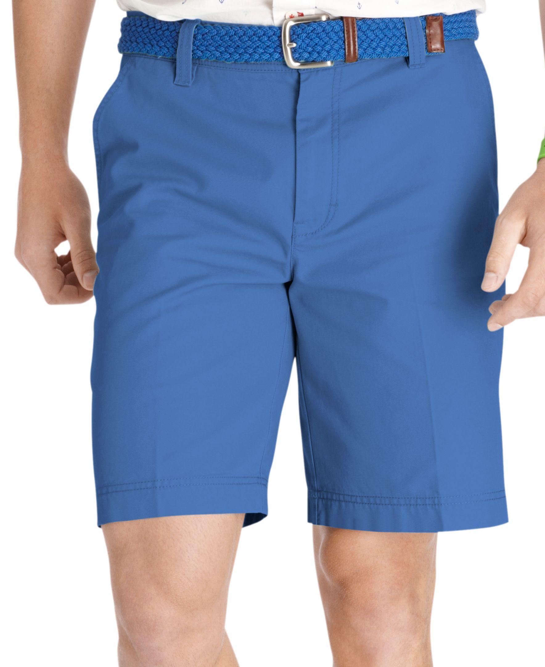 1c2eeb004cbe Izod Big and Tall Flat Front Saltwater Shorts