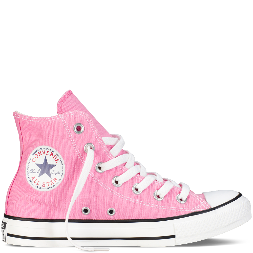 Love the pink! If my hubby didn't hate when girls wear hightops these would  be in my closet!