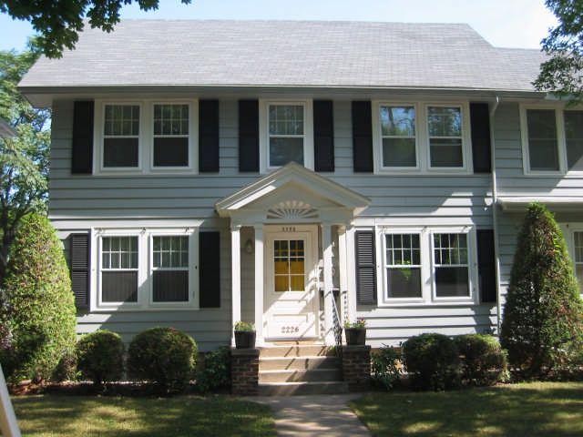Aluminum Siding Painted House Painted Cottage Aluminum Siding Siding Paint