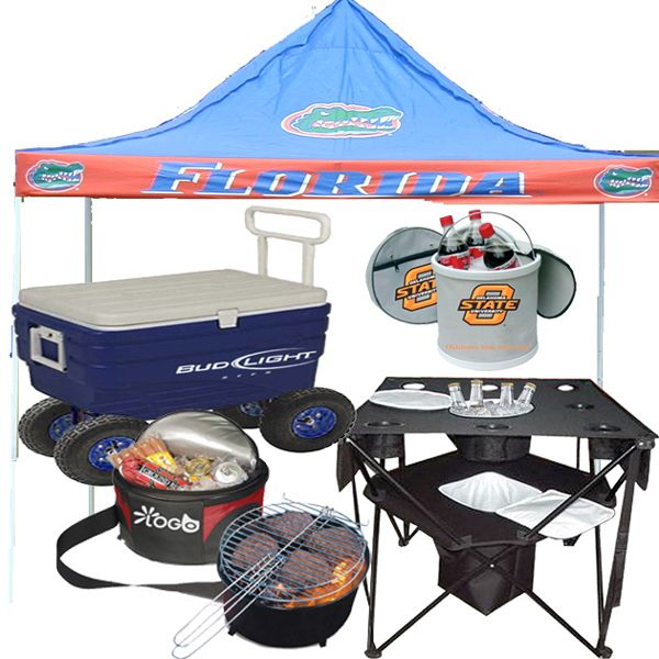 Tailgating - Custom tailgating products. Includes tents coolers chairs BBQ grills gazebo cooler tables portable coolers and portable grills.  sc 1 st  Pinterest & Tailgating - Custom tailgating products. Includes tents coolers ...