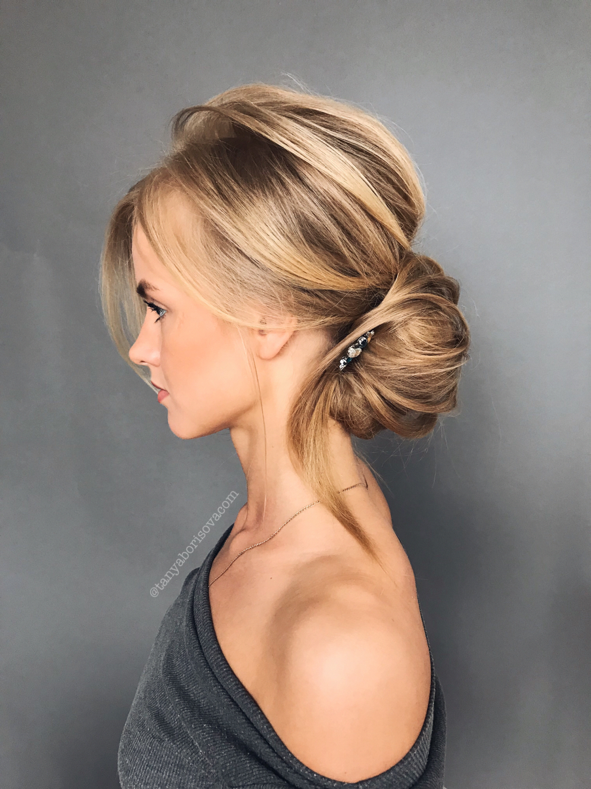easy upstyles for long hair | easy elegant hairstyles for