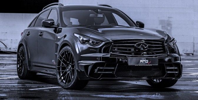 infiniti qx70 lr3 widebody by ahg sports cars and pinterest 4x4 nissan and cars. Black Bedroom Furniture Sets. Home Design Ideas