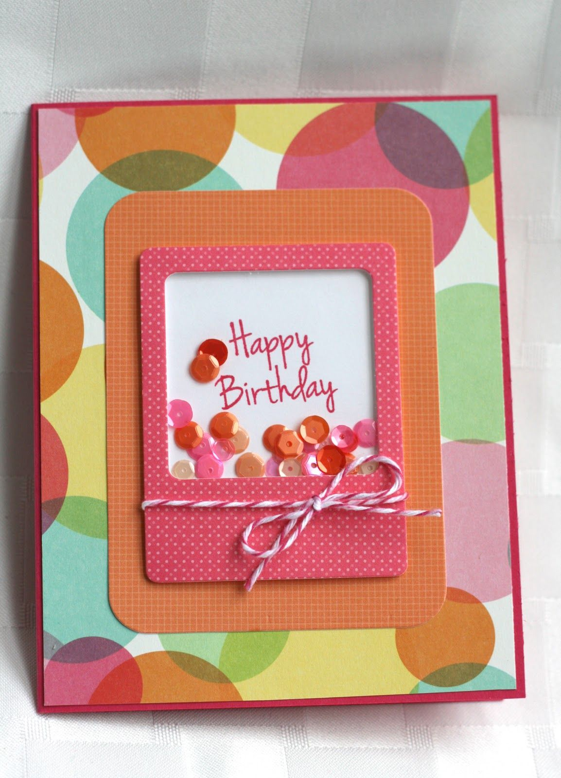 My Craft Spot Dt Post By Ally Birthday Shaker Card Kids Birthday Cards Birthday Cards Diy Shaker Cards