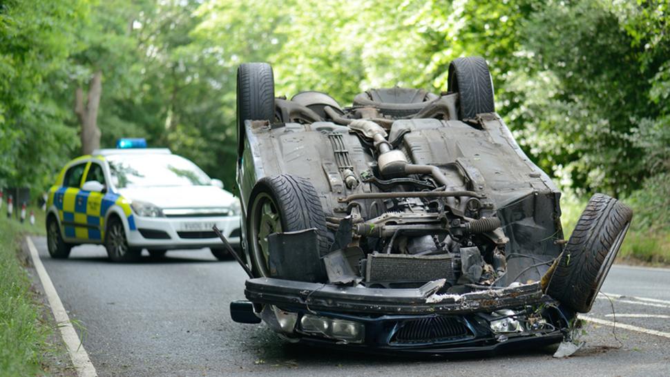Broken Car After The Accident By Https Www Deviantart Com Prussiaart On Deviantart Car Broken Accident