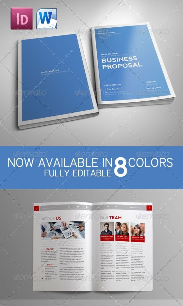 55 Best Business Proposal Templates in InDesign