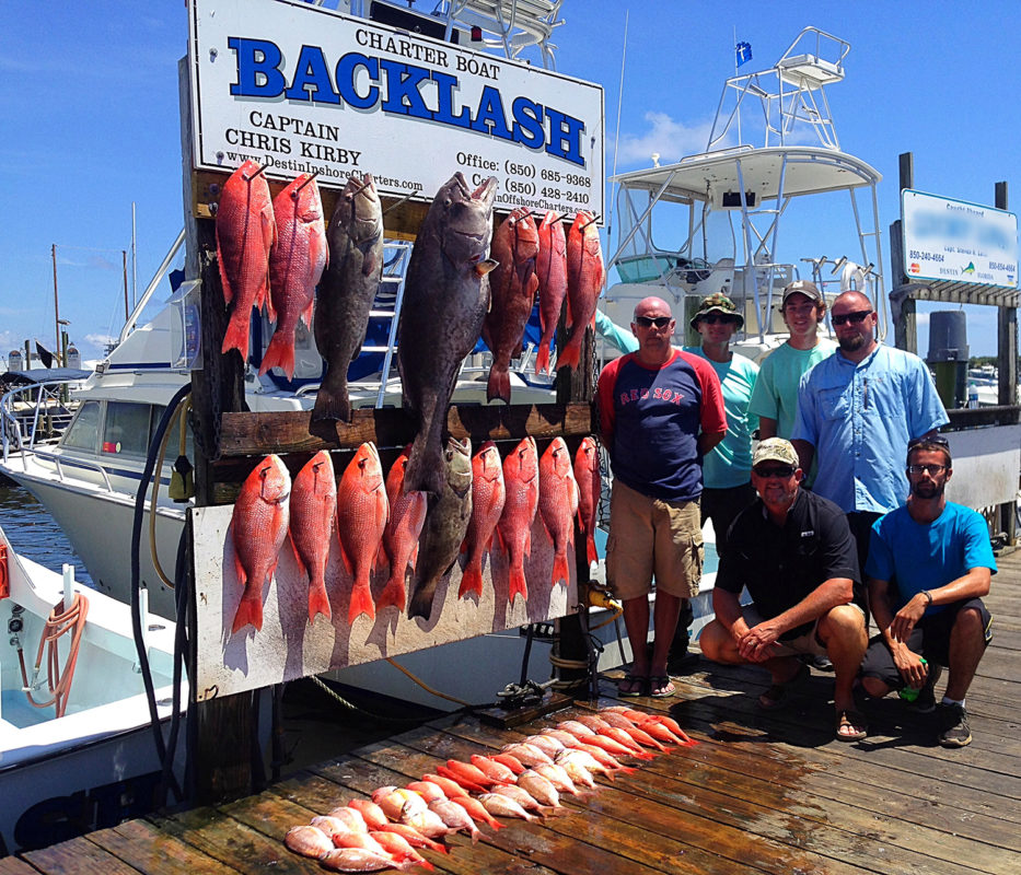 Destin Offshore Charters - Charter Boat Backlash - Things ...