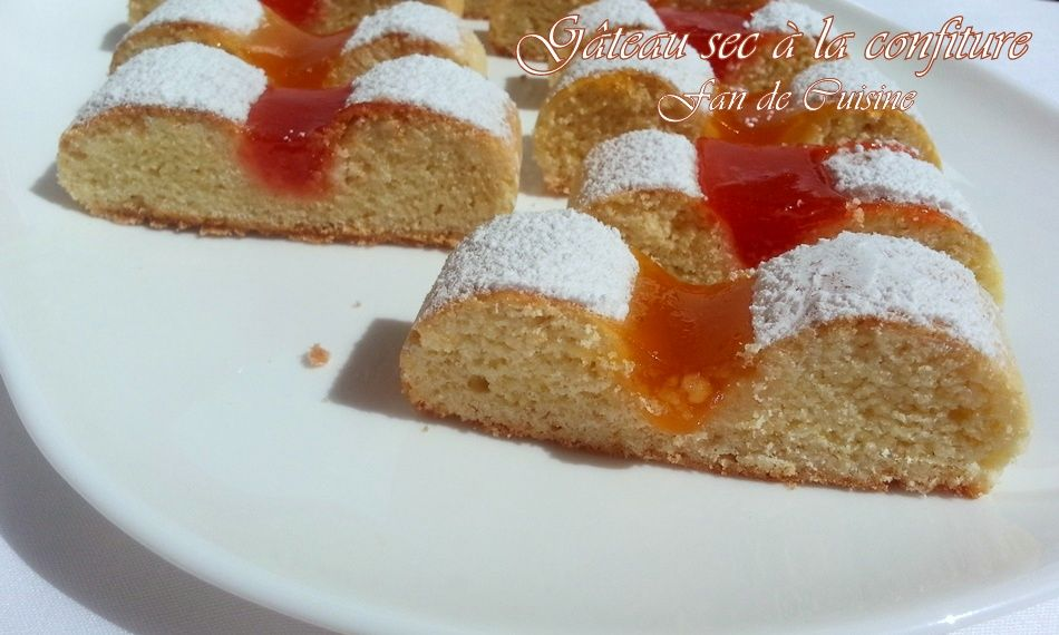 Croquet à la confiture (gâteau algérien)