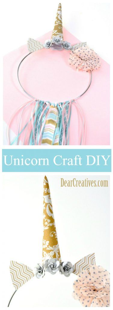 "Unicorn Dream Catcher DIY ""Easy to Make"" With Step by Step Tutorials images"