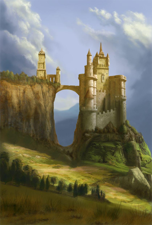 Browse Art Deviantart Chateau Fantastique Paysage Imaginaire Paysage Fantastique