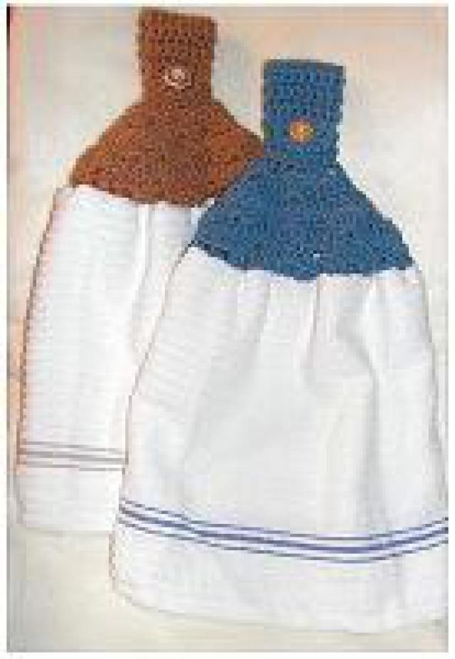 Quick Project: Solid Shell Stitch Towel Topper Free Crochet Pattern ...