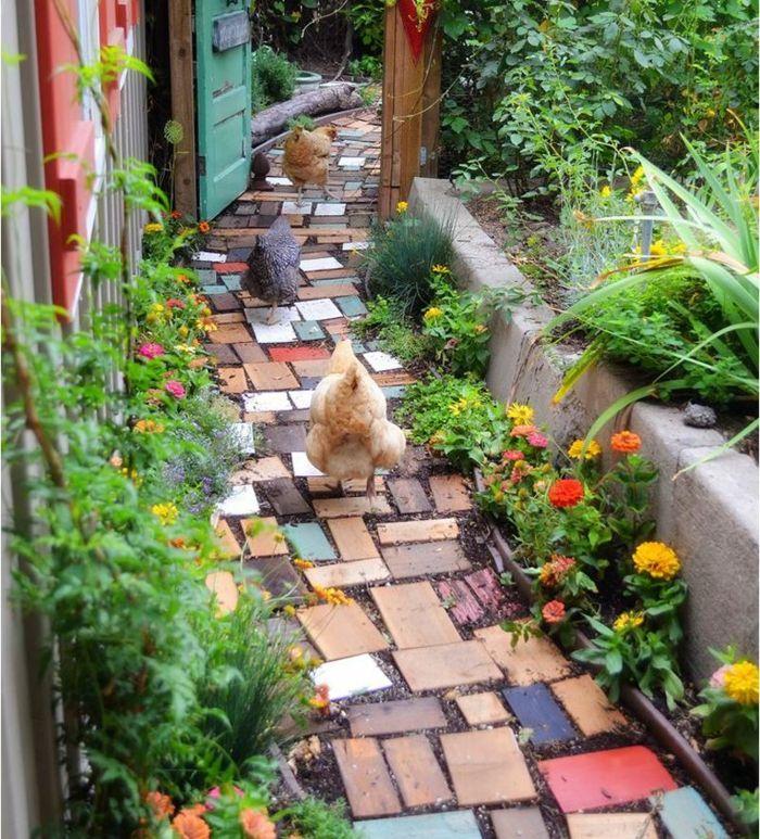 gartengestaltung mit stein garten gestalten vorgarten gestalten, Gartenarbeit ideen