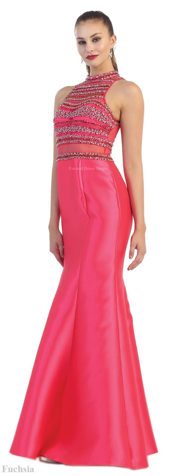 Formal evening long gowns mermaid dress special occasion prom red