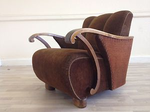 vintage art deco furniture. Vintage ART DECO Antique Chair. Perfect For Sinking Into With A G\u0026T In Hand....Bliss. Art Deco Furniture O