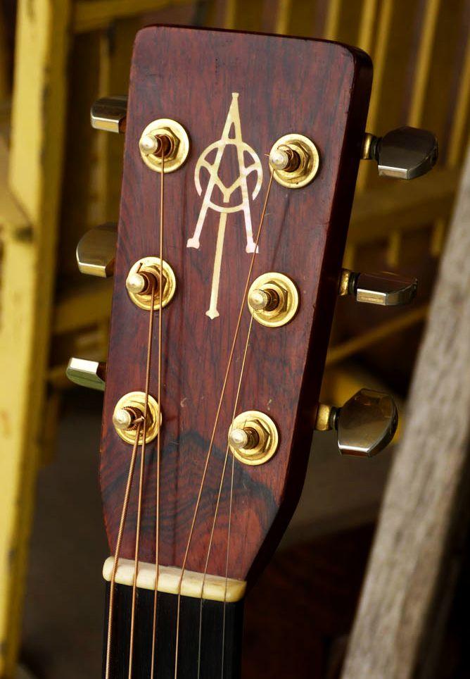 Alvarez Yairi Dy 57 Dreadnought Mid 70s Guitar Headstock Custom Acoustic Guitars Guitar Acoustic Guitar