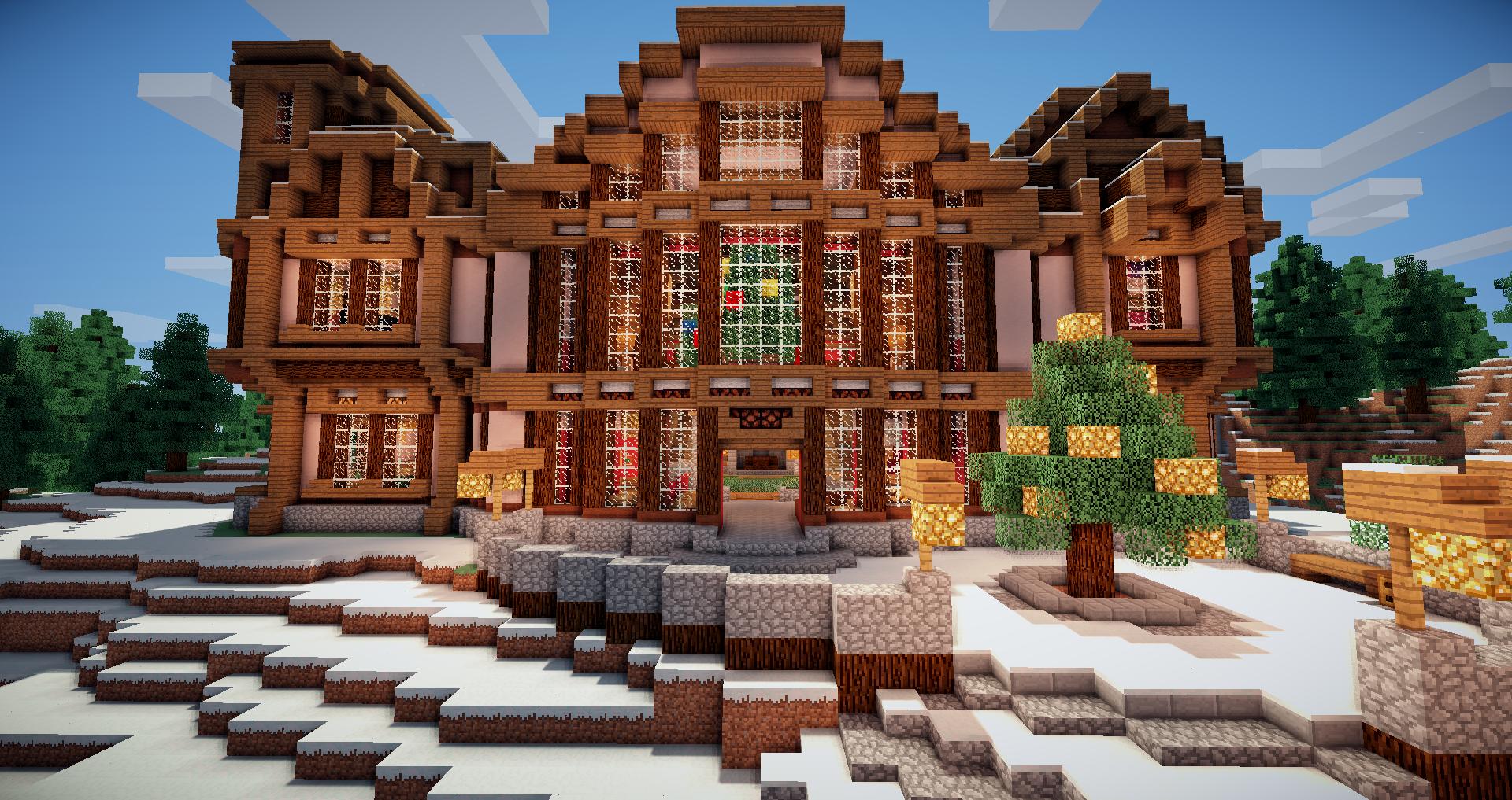 Minecraft Snow House Google Search Minecraft Designs