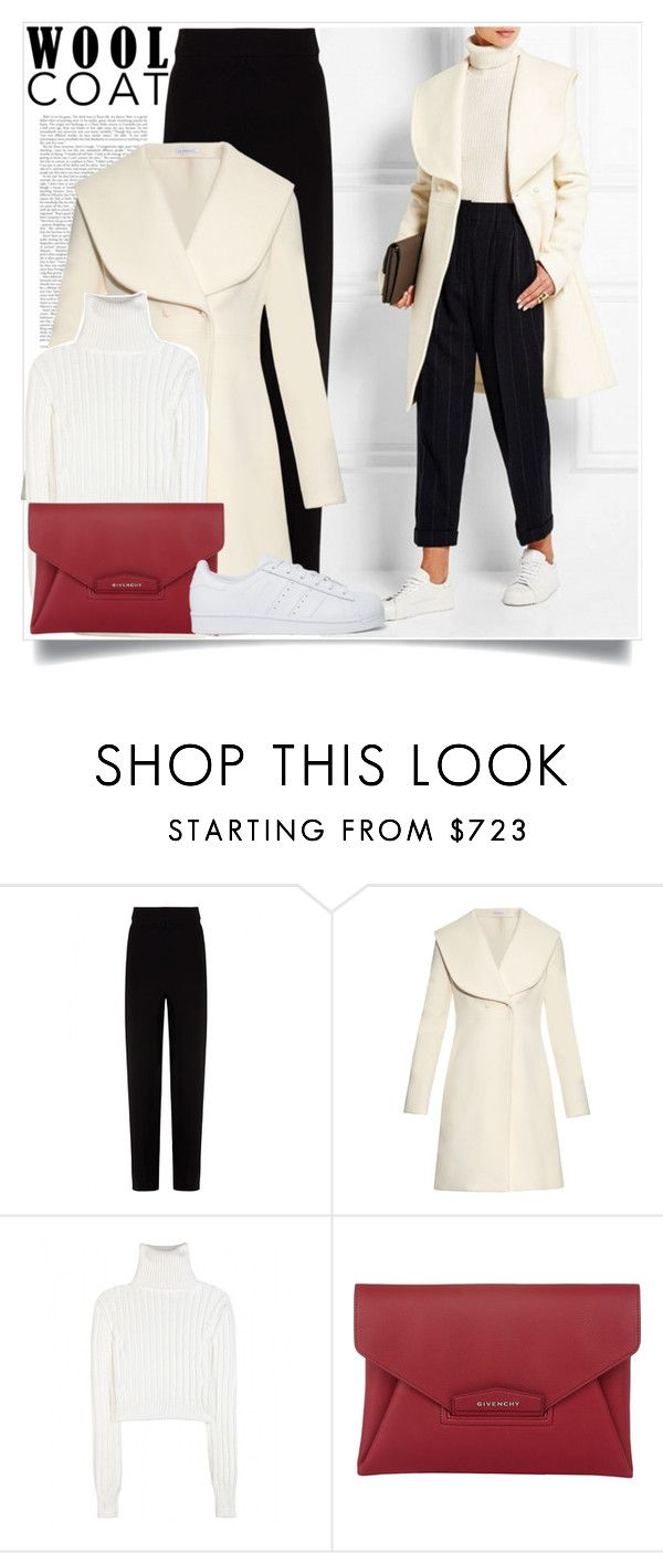 #347 by smiljana-s on Polyvore featuring Calvin Klein Collection, J.W. Anderson, Balenciaga, adidas Originals and Givenchy