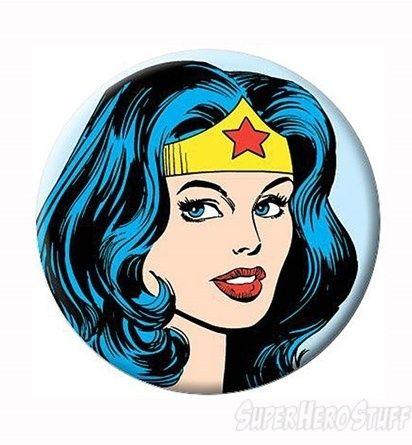 Wonder Woman Clipart | Images of Wonder Woman Face Button
