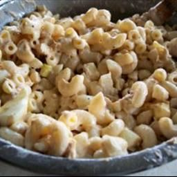 Macaroni Tuna Salad on BigOven: Now that the warm weather is here this salad is great as a side dish with burgers, or other BBQ meats.