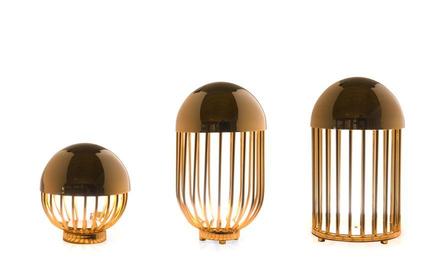 Autoban Pill Lamp - hivemodern.com Design Seyhan Özdemir & Sefer Çaglar Gold plated or chrome-plated steel Made in Portugal by De La Espada