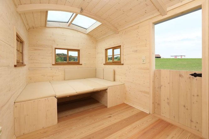 luxus caravan wohnwagen terrasse wohnwagen bau m ller wohnwagen bauwagen pinterest