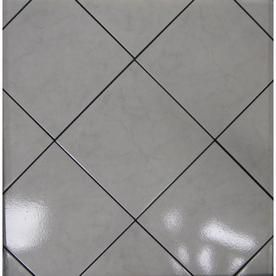 Shop Surface Source 12 W X 12 L Classic Marble Grey Porcelain Tile At Lowes Com Porcelain Floor Tiles Tile Floor Flooring