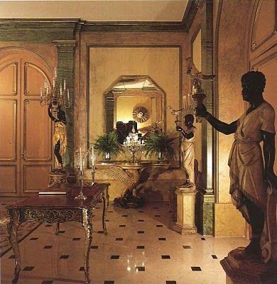 L Hotel Particulier Du Duc Et De La Duchesse De Windsor Au Bois De Boulogne Windsor House Duke And Duchess Gilded Furniture