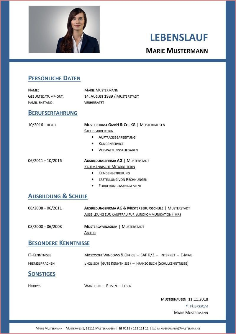 18 Great Resume Format Collection Lebenslauf Kreativ 18 Grossartig Lebenslauf Format Collection Tabular Resume Document Templates Resume Examples Templates