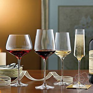 Complete Fusion Infinity Wine Glass Collection Set Of 16 Wine Glass Glass Collection Glass