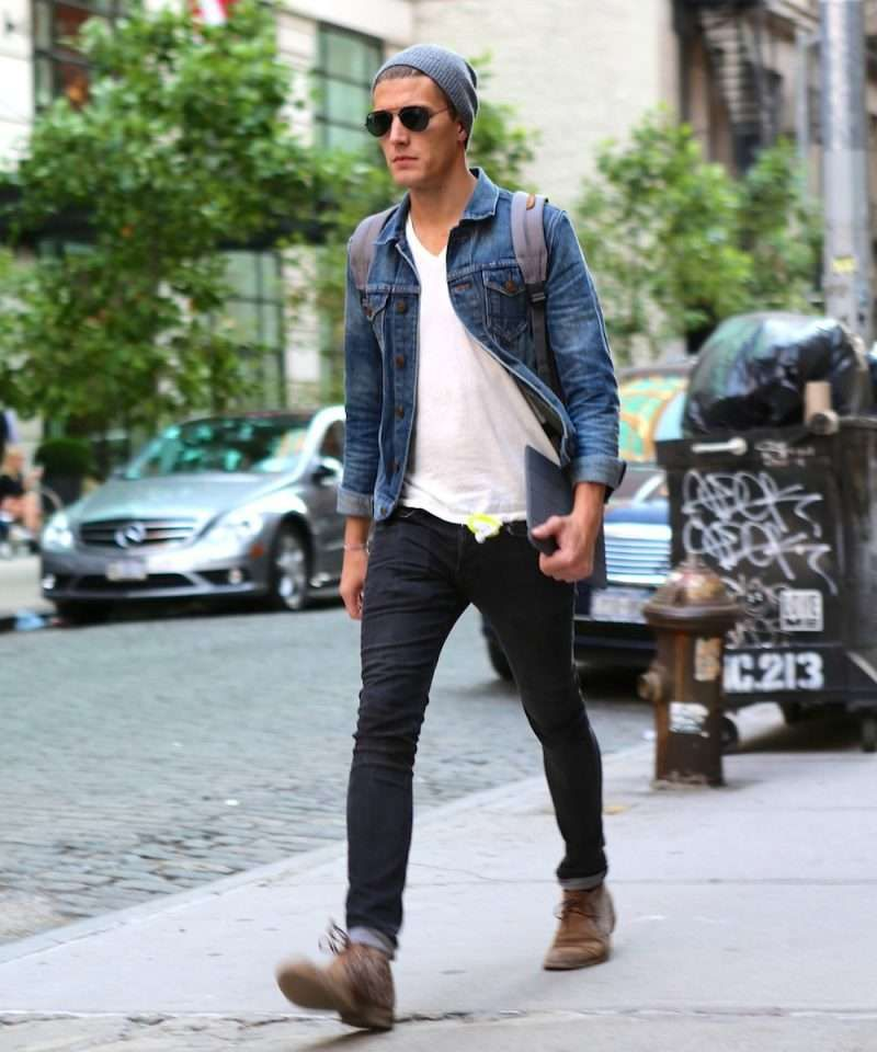 denim-jacket-mens-street-style-800x960.jpg (800×960) | Fashion ...