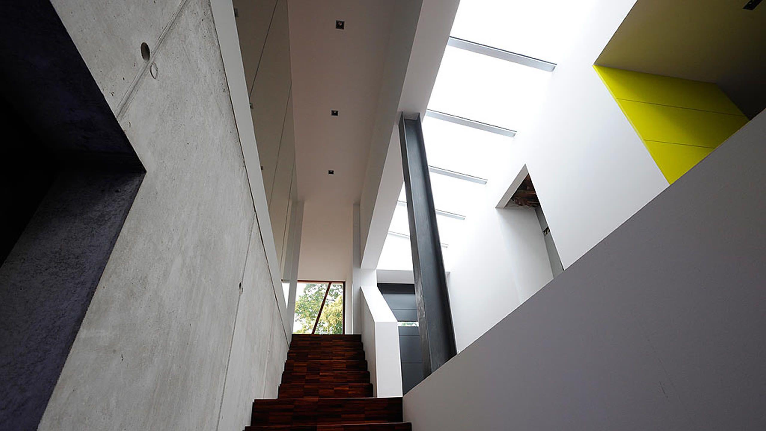 Lab architecten moderne eigentijdse architectuur villa van