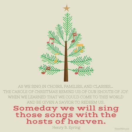 Lds Christmas Quotes.A Time For Remembering The Son Of God 26 Christmas Quotes
