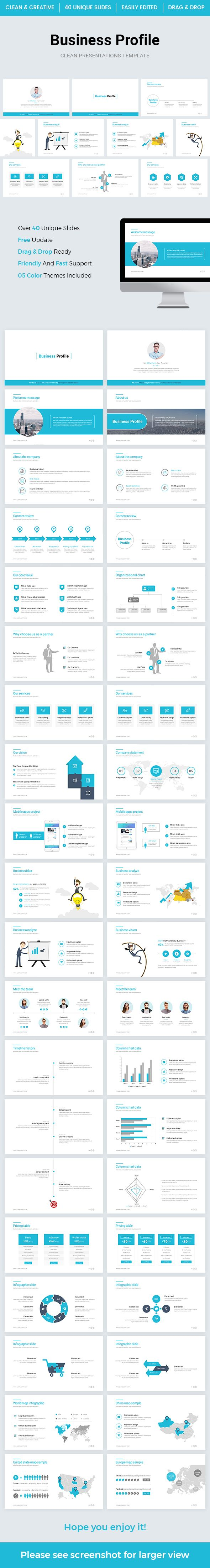 Business profile powerpoint template 2018 keynote template and business profile powerpoint template 2018 business powerpoint templates accmission Choice Image