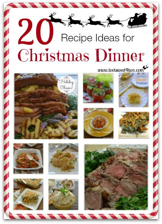 Dinner Party Menu Ideas For 20 Part - 25: Food · 20 Recipe Ideas For Christmas Dinner Cover