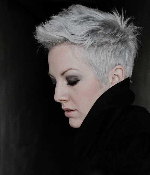 10.Pixie Haircut for Gray Hairs | Hair ideas | Pinterest | Pixie ...
