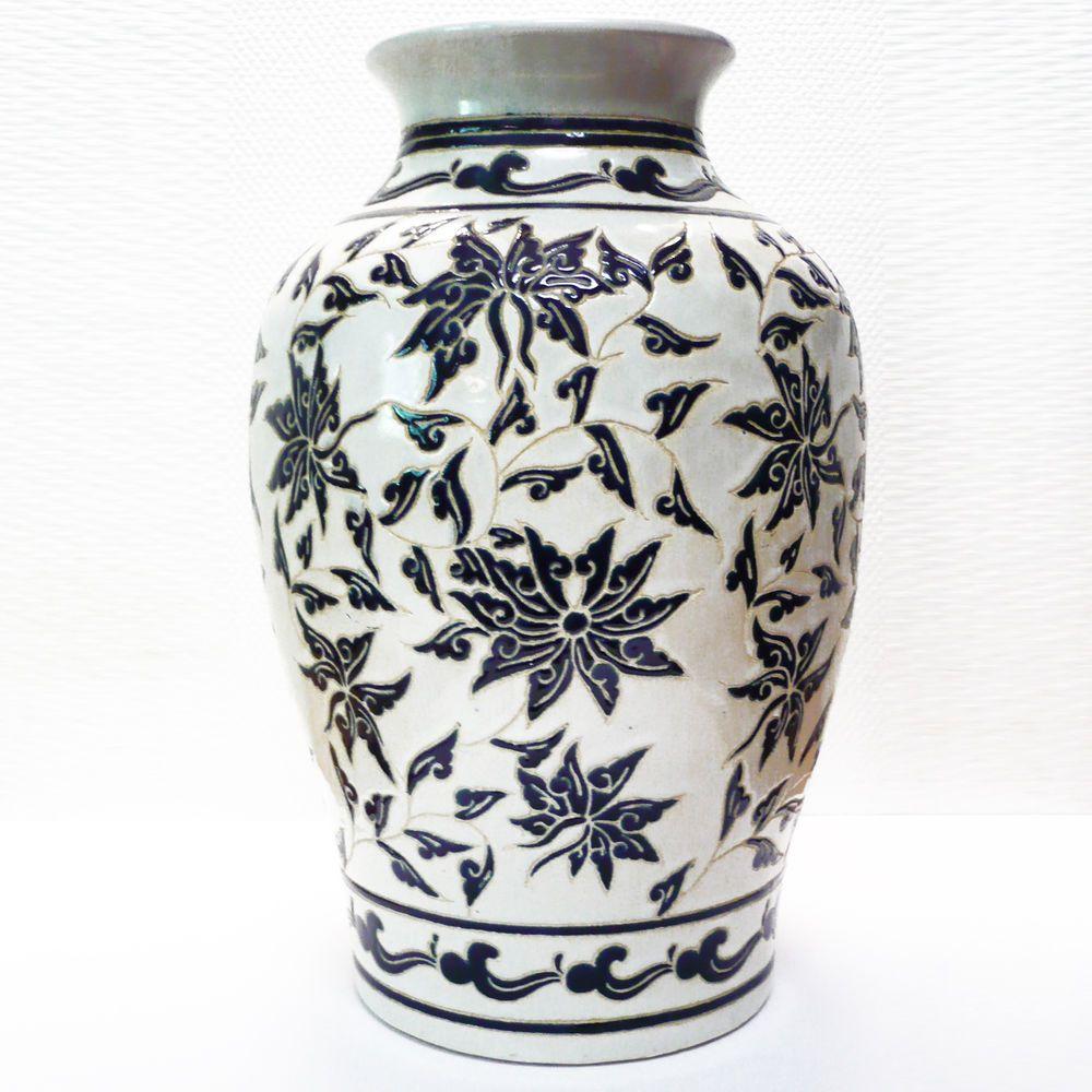 Xxl west german pottery floor vase 70s bodenvase ritzdekor h xxl west german pottery floor vase 70s bodenvase ritzdekor h 45 cm reviewsmspy