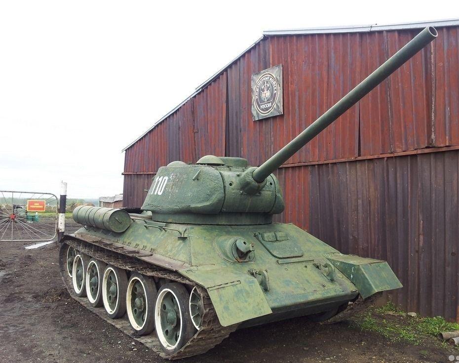 For sale 1942 Soviet T34 Medium Tank