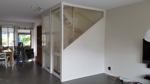 Open trap dichtmaken met deur deur bij trap pinterest stairs