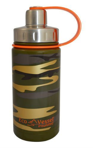 Eco Vessel13oz-Stainless Steel Bottle-Screw Cap