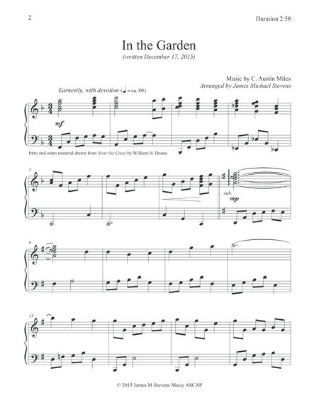 In The Garden (Piano Hymn Arrangement) Read Review Here  Whatdigitalpiano.com. Digital Sheet MusicDigital ...